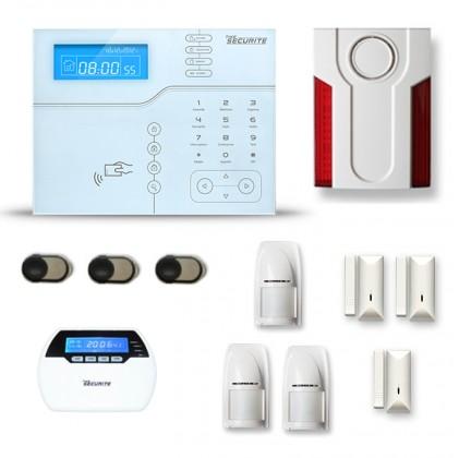 Alarme maison sans fil SHB21 GSM/IP