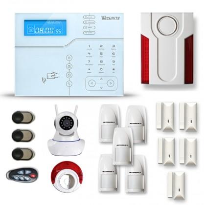Alarme maison sans fil SHB23 GSM/IP