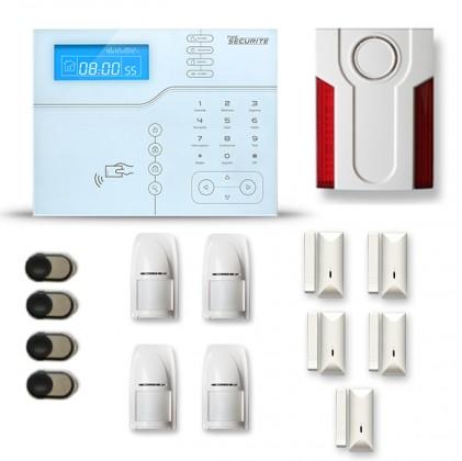 Alarme maison sans fil SHB24 GSM/IP