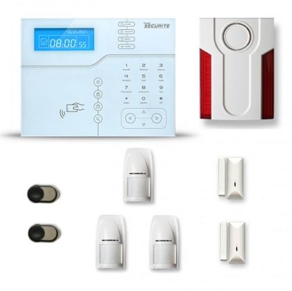 Alarme maison sans fil SHB27 GSM/IP