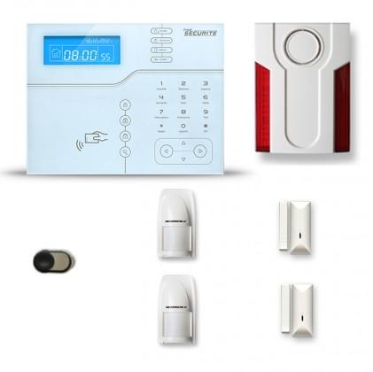 Alarme maison sans fil SHB29 GSM/IP