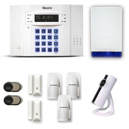 Alarme maison sans fil pack sécurité caméra