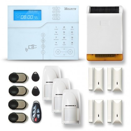 Alarme maison sans fil GSM modèle SHB6 V2