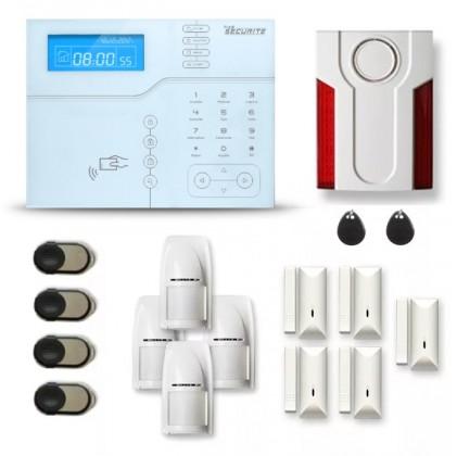 Alarme maison sans fil SHB14 GSM V2