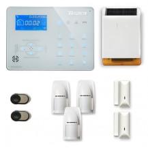 Alarme maison sans fil RTC/IP et option GSM ICE-B45