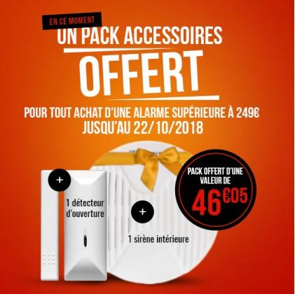 Pack accessoires offert