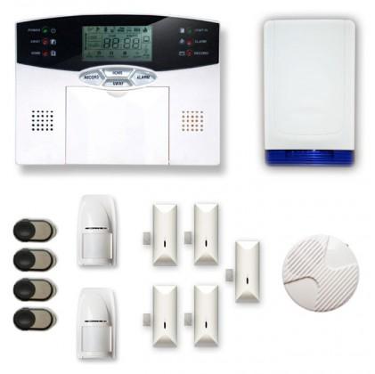 Alarme maison sans fil MN209C