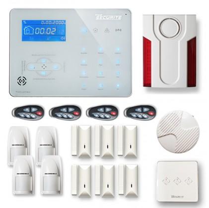 Alarme maison sans fil ICE-B53 GSM / RTC