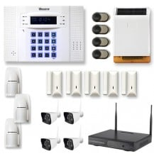 Alarme maison sans fil DNB61 : GSM - Sans GSM, Option Disque Dur 500go - Sans disque dur 500GO
