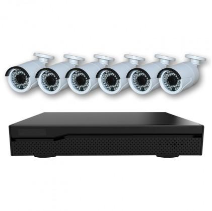 Système vidéosurveillance NVR 6 canaux + 6 caméras