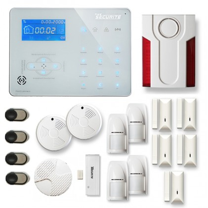 Alarme maison sans fil RTC/IP et option GSM ICE-B112