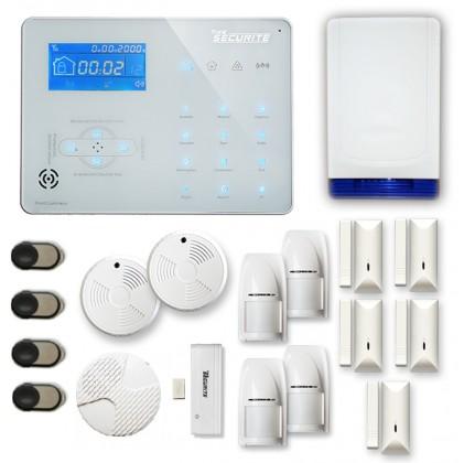 Alarme maison sans fil RTC/IP et option GSM ICE-B132