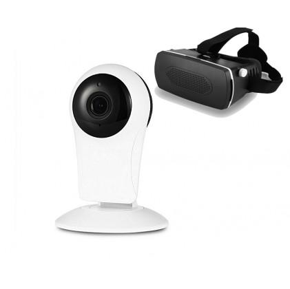 Caméra IP panoramique 720 P + casque VR offert